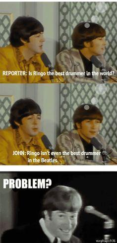 "washum: """" ""Ringo isn't even the best drummer in the Beatles"" """