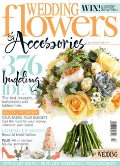 Wedding Flowers Magazine - May/June 2018 Flowers Uk, Cheap Flowers, Flowers Online, Budget Wedding Flowers, Flower Bouquet Wedding, Bridal Bouquets, Wedding Ideas, How To Make Confetti, Wedding People