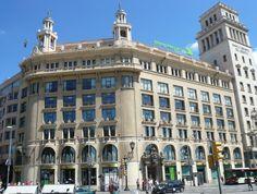 La casa Pich i Pon (Barcelona), obra del arquitecto Josep Puig i Cadafalch