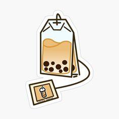 Stickers Cool, Stickers Kawaii, Preppy Stickers, Tumblr Stickers, Anime Stickers, Printable Stickers, Cute Food Drawings, Cute Animal Drawings Kawaii, Arte Do Kawaii