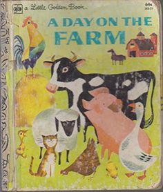 A DAY ON THE FARM (Little Golden Book) by Nancy Fielding ... https://www.amazon.com/dp/0307020894/ref=cm_sw_r_pi_dp_x_pQWLybQS94JAM