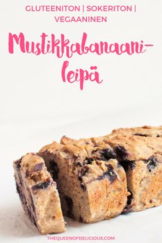 Banana bread is always a good idea and it can be baked with no added sugar. Try the combination of blueberries and cardamom with this gluten free banana. Baby Food Recipes, Gluten Free Recipes, Baking Recipes, Blueberry Banana Bread, Bread Toast, Gluten Free Banana, Vegan Sugar, Food Tasting, Healthy Sweets