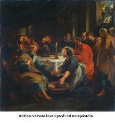 Rubens - Cristo lava i piedi ad un apostolo