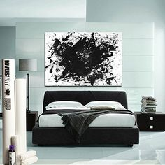 """OMG. I adore this. ADORE. THIS.  """"Express your love through abstract expressionism with fine artist Jeremy Brown's bold idea for making one-of-a-kind art. Each kit allows couples to capture the beauty of intimacy in a new and elegant way by bringing the canvas to the bedroom. """"    Translation: make art while making whoopy!!!"""
