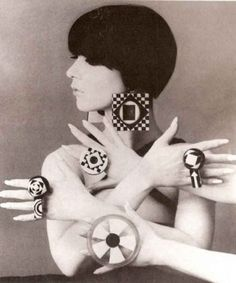 op art jewelery