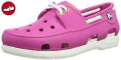 Crocs Electro II, Sabots - Mixte Enfant - Rose (Coral/Raspberry) - 33-34 EU (J2)