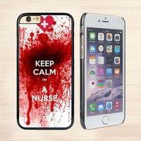 Calm I'm a Nurse Fashion Hard Case For Samsung Galaxy S4 S5 S6 S7,IPhone 4/4s,IPhone 5/5s/5c,IPhone SE,iPhone 6/6s Plus Phone Case