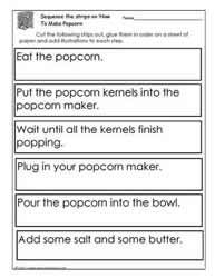 procedural writing worksheets-great website for many prodesural free printables