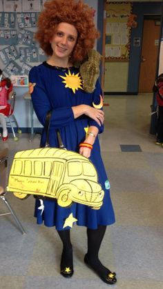 Yesterday's 'book character day' costume for my 3rd graders. God BLESS this teacher!