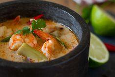 Tom Yam Kung o Sopa de langostinos estilo Thai   Kwan Homsai