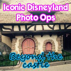 Disneyland provides us with so many amazing opportunities for photography. Today, I'm sharing many locations - beyond the castle - for you to document your visit to the happiest place on earth. Let's get started!  First, a map. Check out these locations and then the descriptions that coordinate...