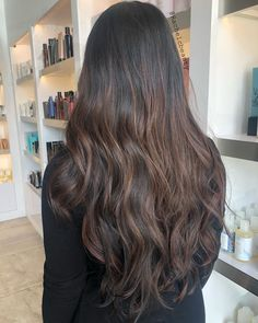 40 Best Brown Balayage Hair Colours for 2021 | All Things Hair UK Balayage Long Hair, Brown Balayage, Balayage Brunette, Hair Color Balayage, Brunette Hair, Honey Brown Hair, Chocolate Brown Hair Color, Light Brown Hair, Dark Hair