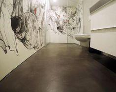Aufsehen Erregender WOW Effekt Und Schmeichelnde Materialien In Einem  Badezimmer!