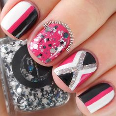 Pink black and white baiuls v