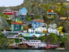St. John's, Newfoundland, Canada Mom use to dive off the cliffs when just a young teen.
