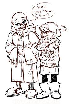 Ugly Sweaters -Sans -Frisk -Undertale