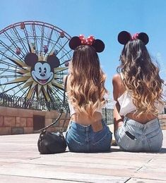 disney, friends, and hair image