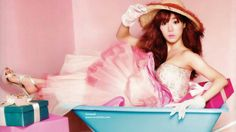 Love this girly shoot of Tiffany from SNSD Tiffany Hwang, Snsd Tiffany, Korean Women, South Korean Girls, Korean Girl Groups, Girls' Generation Tiffany, Girls Generation, Tiffany Birthday Party, Pink