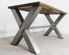 6ft industriel Vintage X piètement Table à manger