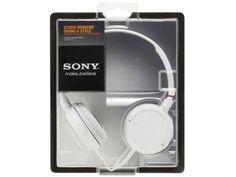 Fone de Ouvido Headphone - Sony MDR ZX100 com as melhores condições você encontra no Magazine Ciabella. Confira!