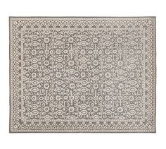 Tile Rug - Gray #potterybarn 9x12 $1000 or 8x 10 $800 -- wool just wish it had more color