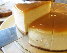 creme brulee cheesecake,yum!