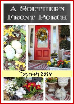 Porch Ideas for Spring-from The Everyday Home