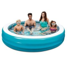 Chromadepth 3D Round Family Pool, Multicolor
