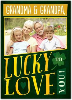 Lucky to Love You - St Patricks Day Cards in Spruce Green | Magnolia Press