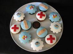 Unas cupcakes médicas