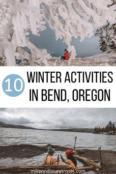 Winter Activities in Bend, Oregon - Best things to do in Bend, Oregon in the winter. This is the best list of hikes, caves, hot springs - Oregon Falls, Bend, Portland Oregon, Oregon Travel, Travel Usa, Beach Travel, Travel Portland, Oregon Vacation, Vacation Places