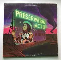 THE KINKS PRESERVATION ACT 2 VINYL 1974 RCA RECORDS LP  ~ FREE SHIPPING