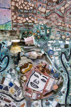 Philadelphia Magic Gardens // Isaiah Zagar | Afflante.com