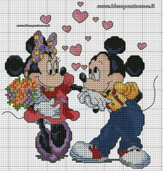 Minnie & Mickey sweethearts 1 of 2