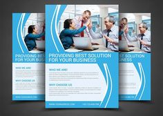 Corporate Flyer Template by AfzaalGraphics on @creativemarket