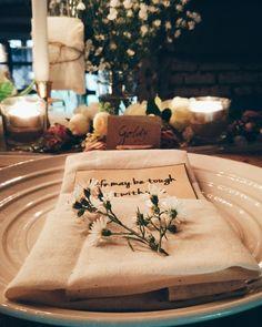 Rustic romantic dinner table decoration • Divine project bali