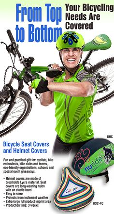 From top to bottom, we have your bicycle accessories needs covered.