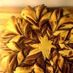 Le goûter est prêt. Et.... C'est assez tentant ;)   #goûter #brioche #nutella #fleur #recette #ldee #cuisine #envie #plaisir #gourmandise #food #instafood #instagood #yummy #miam @nutella by marmiton_org