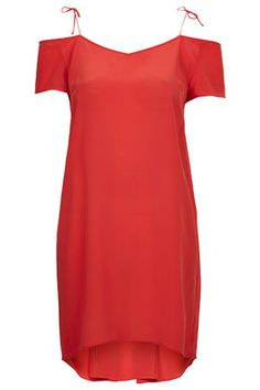 Strappy Silk Dress By Boutique Topshop