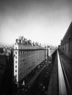 """""""Diagonal Norte, Buenos Aires"""" (Horacio Coppola, 1936)"""