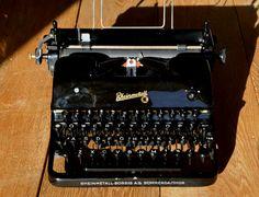 Antique Typewriter  Rare German Rheinmetall by WorkingTypewriters
