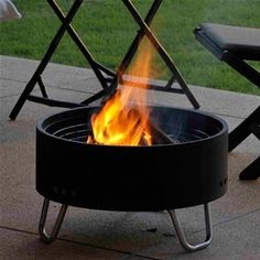 Very small firepit