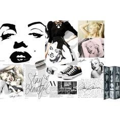 "A original ""marilyn monroe"" by sdesigner102 on Polyvore"