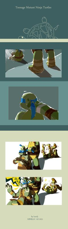 Tmnt, this happens to me all the time because of my friends!Also i'm Leo of the group so it's me and donney mainly does it to me though