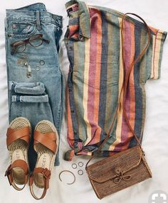 Casual Fall Outfit Inspiration Pin-spired Thrifted Outfits: August – Rachel's Crafted Life Outfit ideas for teen girls, outfit ideas… … Look Fashion, Autumn Fashion, Fashion Outfits, Fashion Trends, Fashion Women, Spring Fashion, Fashion Online, Nerd Fashion, Cheap Fashion