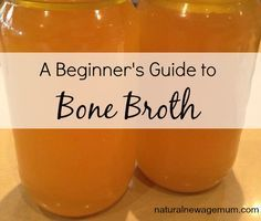 A beginner's guide to bone broth. What is bone broth? How do you store it? And a basic recipe. paleo for beginners crockpot Healthy Recipes, Soup Recipes, Cooking Recipes, Cooking Tips, Healthy Tips, Healthy Foods, Leaky Gut, What Is Bone Broth, Instant Pot