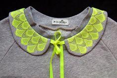 Sewing Like Mad: Free printable separate Peter Pan collar pattern.