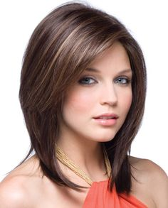 Lovely Mid Length Inverted Hairstyles 2015 -