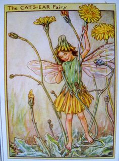 1930s The Cat's Ear FAIRY CICELY Mary by sandshoevintageprint, $9.00