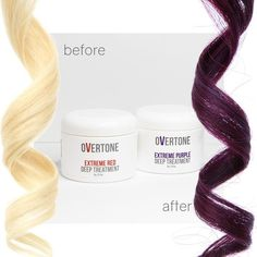 Dark purple dyed hair needs the best wine colored conditioner to keep it bright, and we have what you need! Our dark purple color conditioner is LIFE.